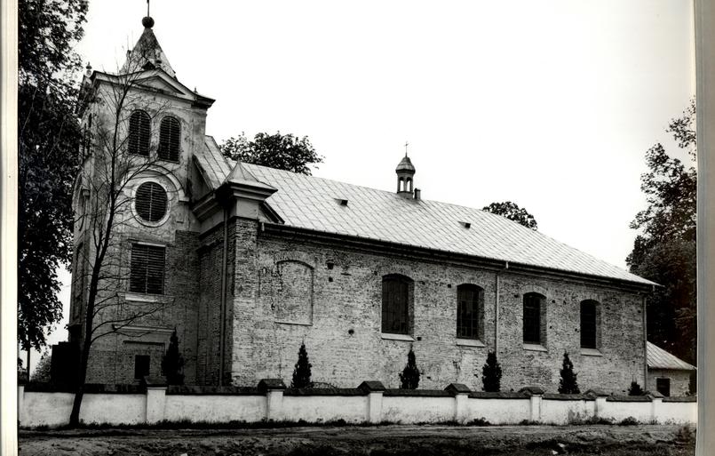 Historia: Kościół w Prażmowie