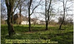 Park krajobrazowy w Zespole Dworskim w Michrowie